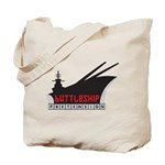 Battleship Pretension Logo Tote Bag