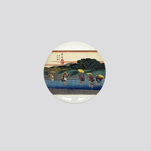 Fujieda 2 - Hiroshige Ando - 1838 - woodcut Mini B