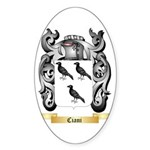 Ciani Sticker (Oval 50 pk)