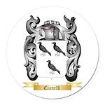 Cianelli Round Car Magnet