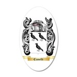 Cianelli 20x12 Oval Wall Decal