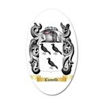 Cianelli 35x21 Oval Wall Decal