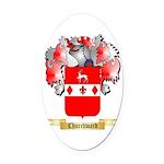 Churchward Oval Car Magnet