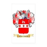 Churchward Sticker (Rectangle 50 pk)