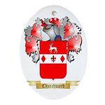 Churchward Ornament (Oval)