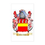 Churchus Sticker (Rectangle)