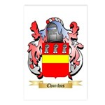 Churchus Postcards (Package of 8)