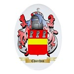 Churchus Ornament (Oval)