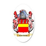 Churchouse Oval Car Magnet