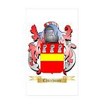 Churchouse Sticker (Rectangle 10 pk)