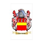 Churchouse Sticker (Rectangle 50 pk)