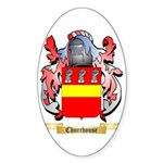 Churchouse Sticker (Oval)