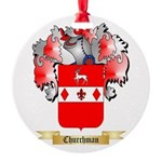 Churchman Round Ornament