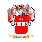 Churchman Square Car Magnet 3