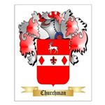 Churchman Small Poster