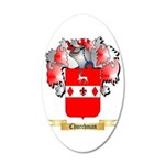 Churchman 20x12 Oval Wall Decal