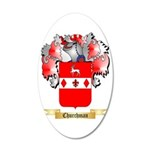 Churchman 35x21 Oval Wall Decal