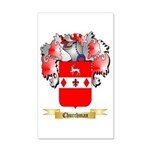 Churchman 20x12 Wall Decal