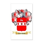 Churchman 35x21 Wall Decal