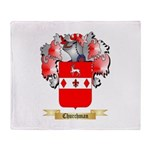 Churchman Throw Blanket