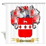 Churchman Shower Curtain