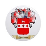 Churchman Ornament (Round)