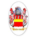 Churchis Sticker (Oval 10 pk)