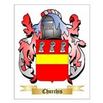 Churchis Small Poster