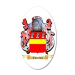 Churchis 35x21 Oval Wall Decal