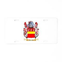 Churchis Aluminum License Plate
