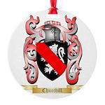 Churchill Round Ornament
