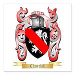 Churchill Square Car Magnet 3