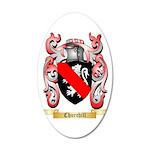 Churchill 35x21 Oval Wall Decal