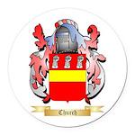 Church Round Car Magnet