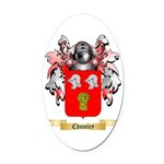 Chumley Oval Car Magnet