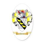 Chsnet Oval Car Magnet