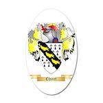 Chsnet 35x21 Oval Wall Decal