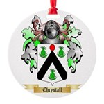 Chrystall Round Ornament