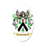 Chrystall Oval Car Magnet