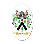 Chrystall 20x12 Oval Wall Decal