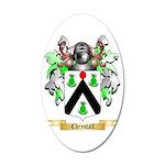 Chrystall 35x21 Oval Wall Decal