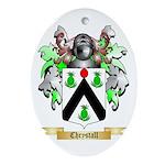 Chrystall Ornament (Oval)
