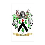 Chrystal Sticker (Rectangle 10 pk)