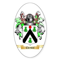 Chrystal Sticker (Oval)