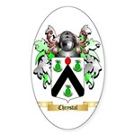 Chrystal Sticker (Oval 10 pk)