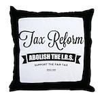 Abolish The I.R.S. Throw Pillow