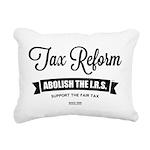 Abolish The I.R.S. Rectangular Canvas Pillow