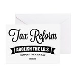 Abolish The I.R.S. Greeting Cards (Pk of 10)