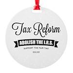 Abolish The I.R.S. Ornament