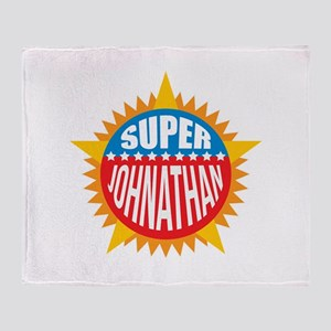 Super Johnathan Throw Blanket